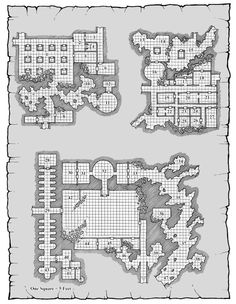d&d dungeon map - Google Search