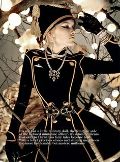Like a toy soldier - Vogue