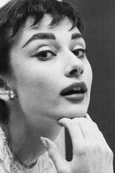 Audrey Hepburn photographed by Mark Shaw in 1953