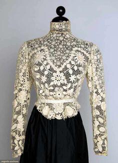White Lace Blouse, 1900-1905