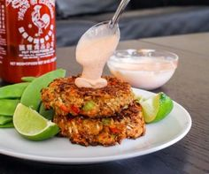 Coconut Curry Salmon Cakes by Eat Spin Run Repeat