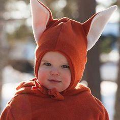 Fox Hat, Mr Fox, Little Fox, Children Clothes, Fairy Tales, Kids Outfits, Winter Hats, Sewing, Friends
