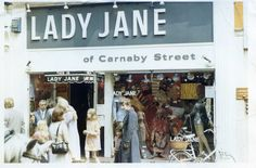 The Lady Jane boutique on London's Carnaby Street
