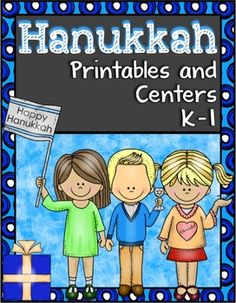 "Hanukkah  Happy Hanukkah! In this Hanukkah pack you will find: Hanukkah vocabulary word wall cards. Hanukkah vocabulary matching worksheet Hanukkah theme ""Find, Tally, and Graph"" Hanukkah theme 10 frame worksheets ~ ways to make 10 Hanukkah and Christmas venn diagram ""Happy Hanukkah"" reproducible book with sight word practice for: ""these, this, is, & are"" Hanukkah facts worksheet Hanukkah write the room center Hanukkah explanation cards.  $4.00"