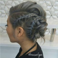 Stylish Everyday Hairstyles for Braid Updos - Updo Hairstyles for Medium Length Hair #EverydayHairstylesMedium