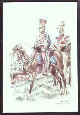 CPA-UNIFORMES BELGES- 66-LANCIER-TROMPETTE 1er RGT 1831-(JAMES THIRIARD)