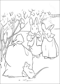 29 coloring pages of Peter Rabbit on Kids-n-Fun.co.uk. Op Kids-n-Fun vind je altijd de leukste kleurplaten het eerst!