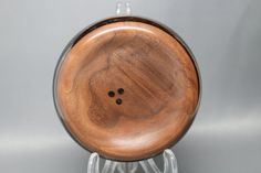 Artistic Handmade Wooden Ring Coin Dish made of by Colemancrafts