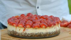 Vodka strawberry cheesecake recipe on The Hairy Bikers' Northern Exposure