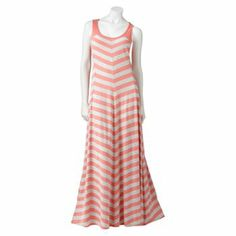 LC Lauren Conrad Striped Maxi Dress - Women's