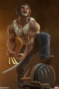 Bd Comics, Marvel Comics Art, Marvel X, Marvel Heroes, Wolverine Art, Logan Wolverine, Comic Books Art, Comic Art, Marvel Statues