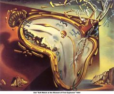 Salvador Dali - Soft Watch at the Moment of the First Explosion