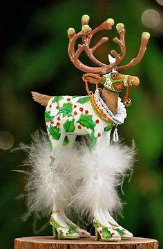 Vixen Reindeer Ornament