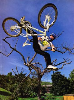 Dave Voelker / One footed invert air at Ron Wilkerson's Enchanted Ramp! (1988)