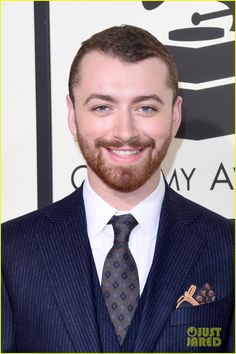 Sam Smith Gives Two Big Thumbs Up at the Grammys 2016!: Photo #929650. Sam Smith puts on his finest for the red carpet at the 2016 Grammy Awards held at the Staples Center on Monday (February 15) in Los Angeles.    The 23-year-old entertainer's…
