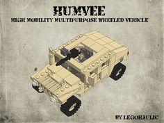 HUMVEE Instructions by Legohaulic, via Flickr