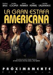 El viernes 31 de enero por fin se estrena en España la gran triunfadora de los últimos Globos de Oro: 'La gran estafa americana (American Hustle) de David O. Russell.
