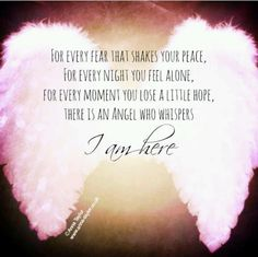 61 Beautiful Angel Quotes And Sayings Angel Protector, Affirmations, I Believe In Angels, My Guardian Angel, Angel Numbers, Feeling Alone, Trust God, Favorite Quotes, Me Quotes