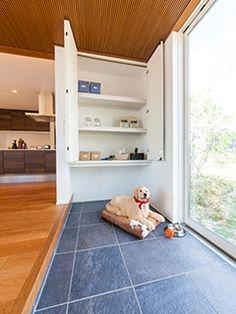 Dog Spaces, Pet Hotel, Dog Rooms, Dog Life, Dog Cat, Shelves, House Design, Flooring, Architecture
