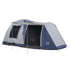 Spinifex Huon Geo Dome Tent Dark Blue & Light Blue | Anaconda