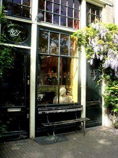 Antique shop in Amsterdam