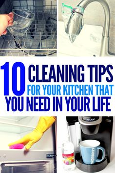 10 Kitchen Cleaning Tips You Need in Your Life - Strive & Hustle