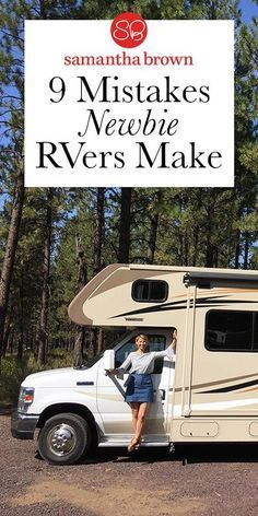 """My husband and I rented an RV last summer. And boy oh boy, did we learn a lot. There's no reason to be embarrassed if you do make mistakes. They are shared by literally EVERY seasoned RV'er out there. The good news? This community is more than happy to help out the """"new kids on the block."""""""