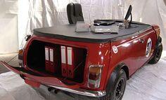 Mini car desk