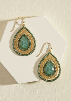 Live, Laugh, Lobe Earrings in Sage - Green, Mint, Beads, Prom, Wedding, Party, Winter, Good, Gold