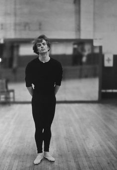 DANCE: Rudolf Nureyev by Richard Avedon. Born in Irkoutsk, Russia, he later emigrated to France.