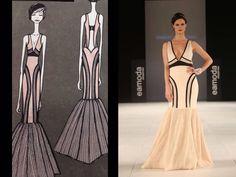 Diseño de moda Finalista Noelia Diaz Concurso Internacional Eamoda - art couture