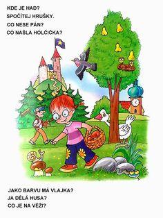 Pro Štípu: Obrazkove hadanky Book Activities, Alphabet, Album, Teaching, Christmas Ornaments, Logos, Holiday Decor, Fictional Characters, Montessori
