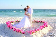 Destin Florida Beach Wedding Packages, Destin Weddings, Pensacola Beach Weddings, Panama City Beach Weddings