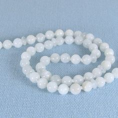 Hand-Knotted Moonstone Necklace