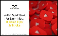 Visual content has become an increasingly important digital marketing tool for businesses. Here is Video Marketing for Dummies. Digital Marketing, Content, Tips, Counseling