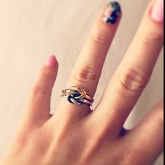 This James Avery customer received the Original Lovers' Knot Ring as a symbol of love from her significant other. #JamesAvery