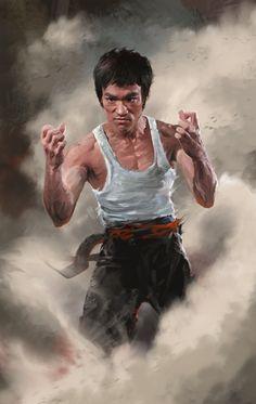 Bruce Lee l Martial Arts Grandmaster Bruce Lee Photos, Bruce Lee Art, Bruce Lee Martial Arts, Bruce Lee Poster, Kung Fu, Brandon Lee, Martial Arts Movies, Martial Artists, Muay Thai