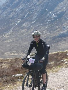 430miles of highland trails to cover for Alan