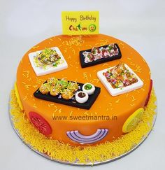 Cake Decorating Piping, Creative Cake Decorating, Birthday Cake Decorating, Creative Birthday Cakes, Elegant Birthday Cakes, Creative Cakes, Fondant Cake Designs, Fondant Cake Tutorial, Cake For Boyfriend
