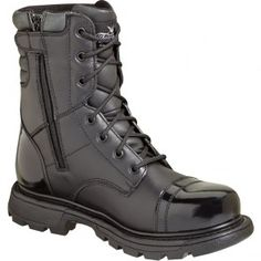 834-6888 Thorogood Men's Tactical Uniform Jump Boots - Black