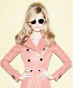 Karolina Mrozkova for Elle Russia by Matt Irwin