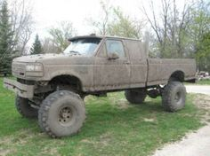 mud trucks   Mud truck