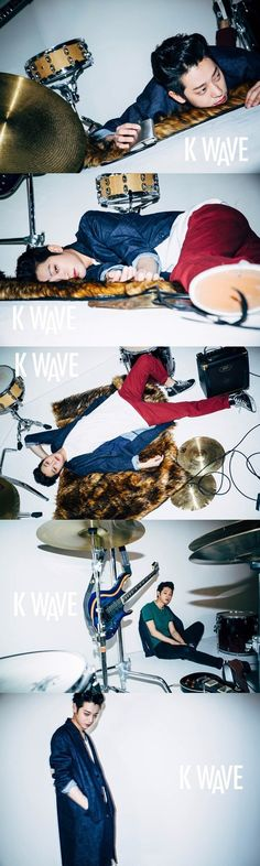"Jung Joon Young Discusses His Public Image with ""K WAVE"" Photoshoot 