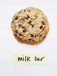 Salted Chocolate Chip Cookies from the Milk Bar Life cookbook, by Christina Tosi