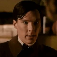 Suddenly, its 1945 and the formerly brash Benedict becomes beautifully melancholy as romantically late-blooming Bernard Bligh in Small Island . | 15 Photos That Prove Benedict Cumberbatch Is A Time-Traveling Shapeshifter