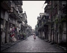 Walk into the parallex, Chikan   China