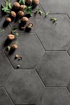 Casablanca range   Mandarin Stone   Decorative hexagon and square format porcelain tiles in a range of beautiful and quirky designs including matching plain tiles to get creative with   www.mandarinstone.com