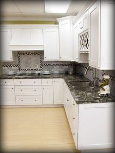 shaker white kitchen cabinets design ideas lily ann cabinets is factory direct - Kitchen Cabinets Design Ideas
