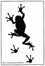 frog silhouettes - Google Search