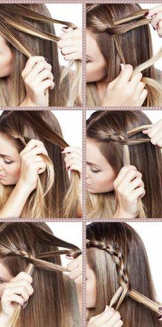 Hair step by step